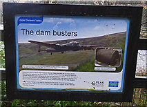 SK1789 : Upper Derwent Reservoir Dam Busters notice by Andrew Tatlow