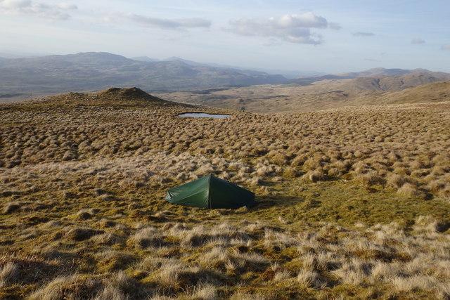 Wild camp, Waun-oer