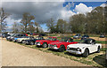 SP3646 : Car club outing at Upton House by Des Blenkinsopp