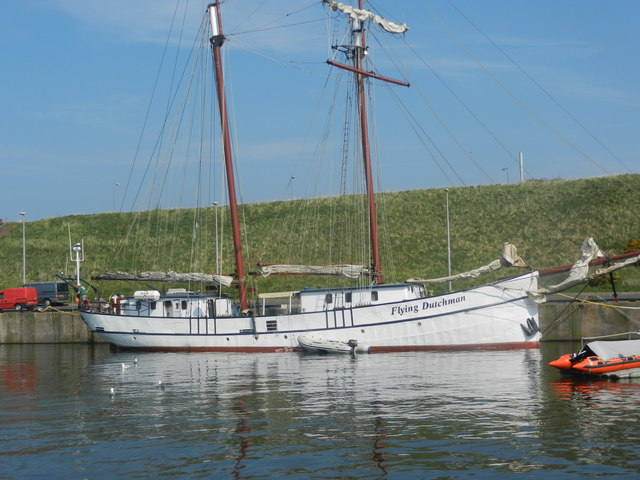 The Flying Dutchman in Eyemouth Harbour