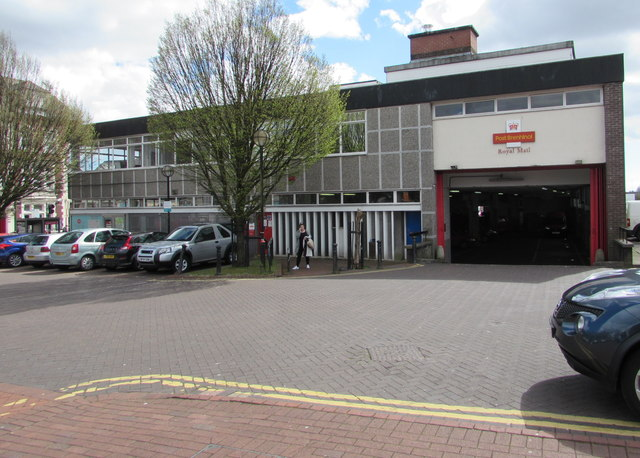 Royal Mail delivery office, Neath