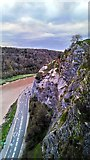 ST5673 : View from Clifton Suspension Bridge by PAUL FARMER