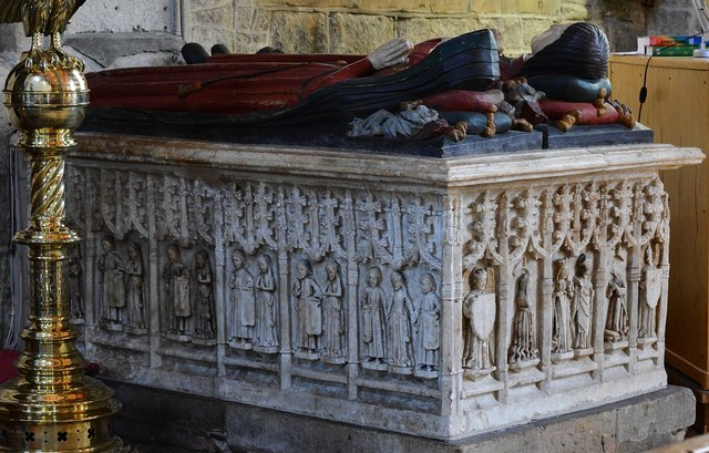Ashover: All Saints Church: The Babington tomb 4
