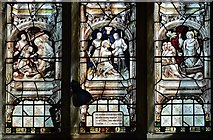 SK3463 : Ashover: All Saints Church: Stained glass window 5 by Michael Garlick