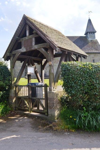 Lych Gate - Coppenhall Church