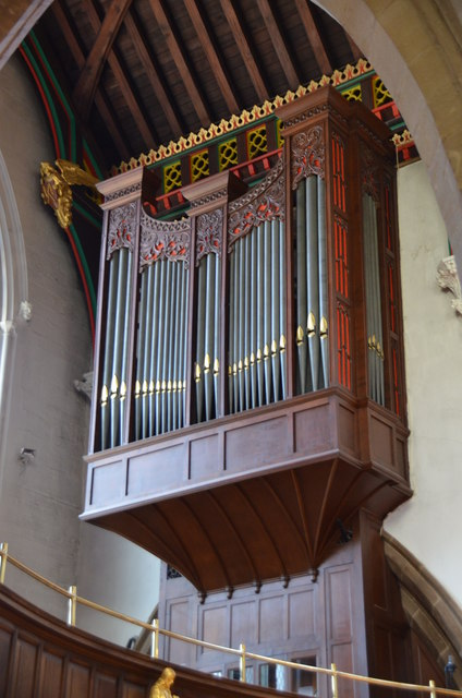 Organ, Leicester Cathedral