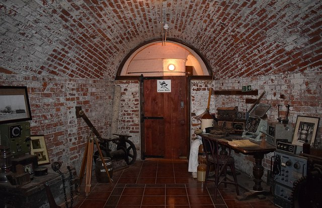 No Man's Land Fort - A lower level room