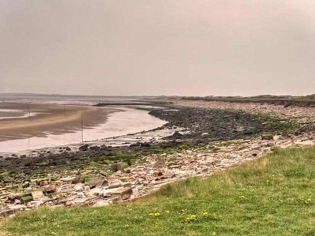 Alt Estuary, Brick Beach