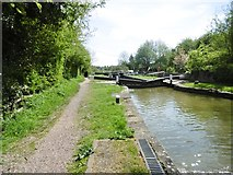 SP6165 : Long Buckby, Lock No 8 by Mike Faherty