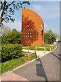 SD5525 : New War Memorial at Dandy Brook Park, Lostock Hall by David Dixon