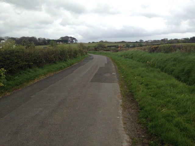 B14 road near Andreas