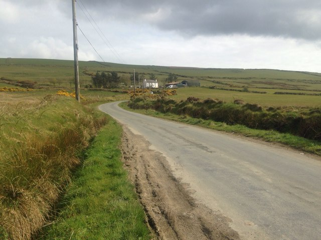 Road from Cronk-y-Voddy to Little London