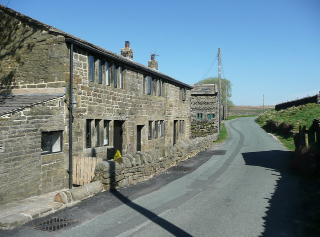 The former Widdop Gate Scout Hostel, Heptonstall