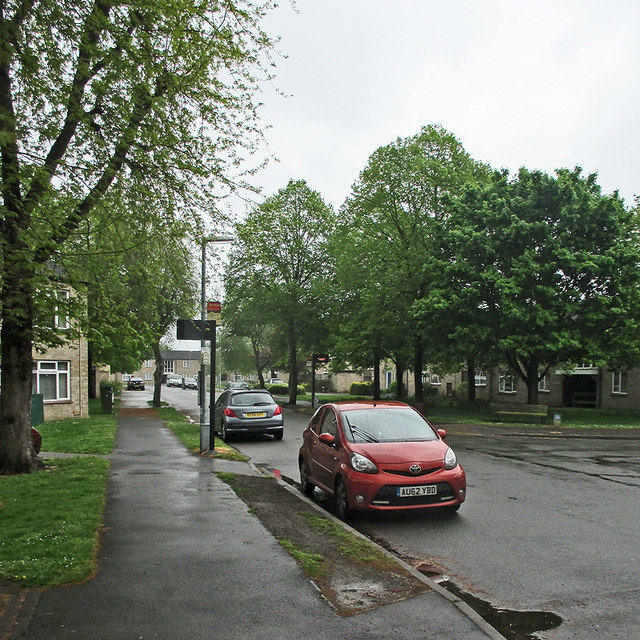 A wet afternoon in May