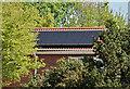J3875 : Solar panels, Belfast (May 2016) by Albert Bridge