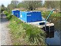 SJ3326 : Canal maintenance boat by John Haynes