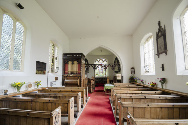 Interior, St Nicholas' church, Searby cum Owmby