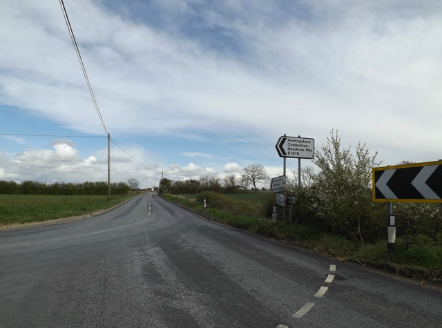 B1078 Ashbocking Road, Hemingstone