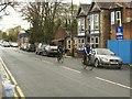 SE3170 : Cyclists, Bondgate Green, Ripon by Stephen Craven