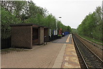 SD7217 : Entwistle railway station by Peter Whatley