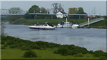 SK8174 : Boats on the River Trent by Mat Fascione