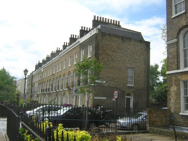 Rodney Terrace, Mile End Road