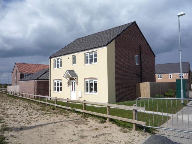 New housing Browston Corner