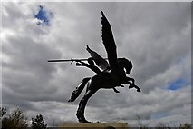 SK1814 : National Memorial Arboretum: The Parachute Regiment and Airborne Forces 2 by Michael Garlick