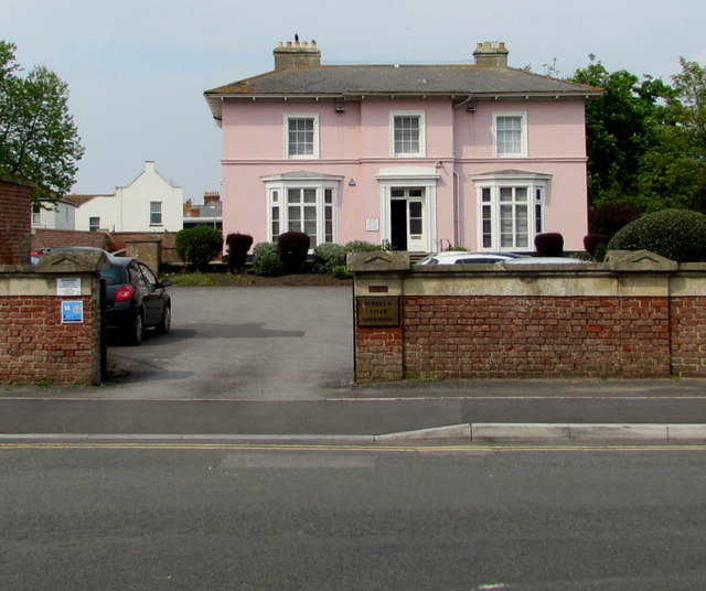 Grade II listed Tregunter, Burnham-on-Sea