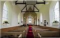 TF0783 : Interior, St Peter's church, Friesthorpe by Julian P Guffogg