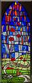 TF0783 : Memorial window, St Peter's church, Friesthorpe by Julian P Guffogg