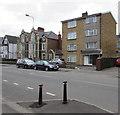 ST1479 : Four-storey block of flats, Llandaff North, Cardiff by Jaggery