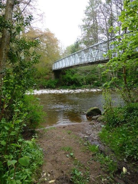 Ford and footbridge