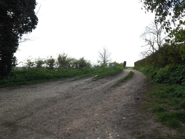 Bridleway to Sandy Lane