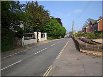 ST0107 : Tiverton Road, looking east by Rob Purvis