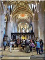SO8932 : The BBC Antiques Roadshow at Tewkesbury Abbey #24 by Philip Halling