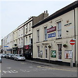 ST3049 : South side of College Street, Burnham-on-Sea by Jaggery