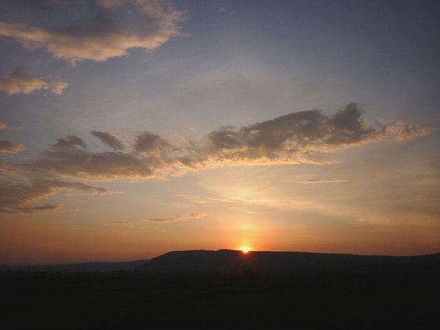 Sunrise over Farleton Fell