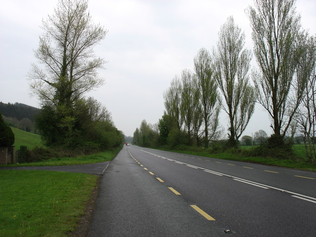 The N22 heading for Cork