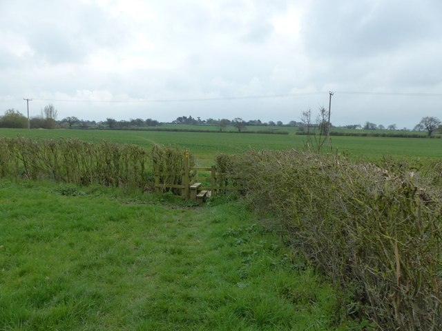 Footpath to Tarvin