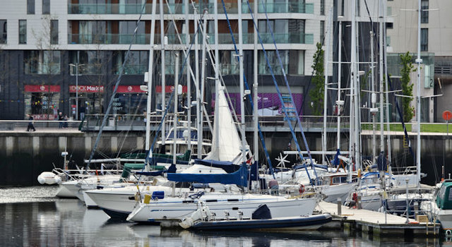 Belfast Harbour Marina (May 2016)