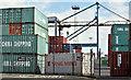 J3475 : Containers, York Dock, Belfast (May 2016) by Albert Bridge