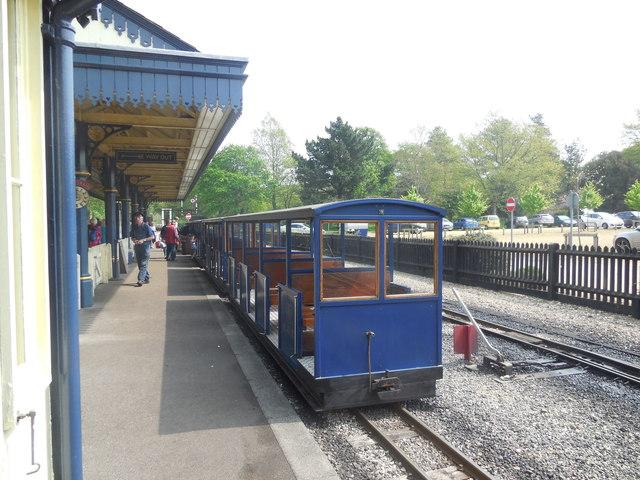Miniature Railway at Exbury Gardens by Paul Gillett