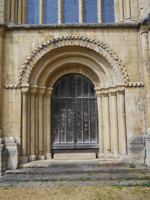 Door at St. Peter's Cathedral, Peterborough