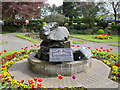 TL1998 : Memorial fountain, Bishop's Road Gardens, Peterborough by Paul Bryan