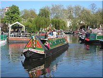 TQ2681 : IWA Canalway Cavalcade 2016 – Little Venice by Peter S