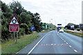 TF2339 : A17 Approaching Bicker Bar by David Dixon
