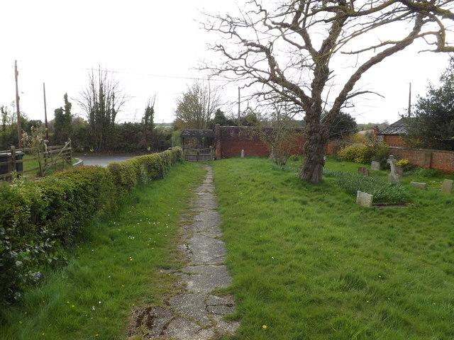 Church Path to Church Lane