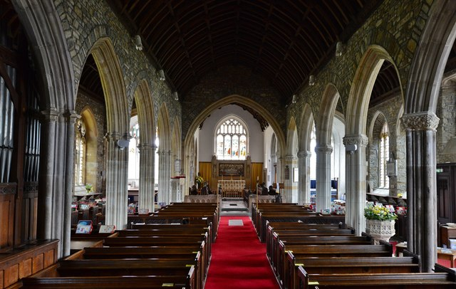 Chittlehampton, St. Hieritha's church: The nave