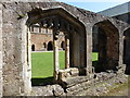 ST0440 : Cloister remains, Cleeve Abbey by Roger Cornfoot